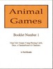 Thumbnail Animal Games Booklets 1