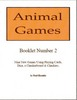 Animal Games Booklet 2