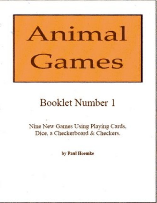 Product picture Animal Games Booklets 1