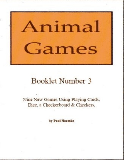Product picture Animal Games Booklet 3