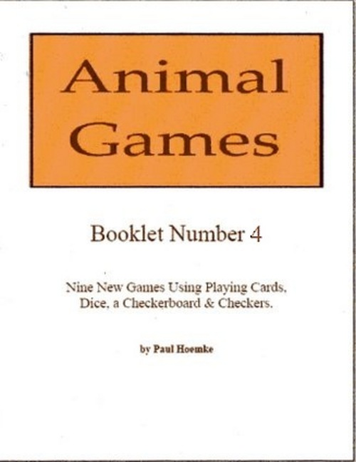 Product picture Animal Games Booklet 4